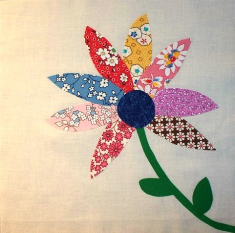 Ode to Spring Applique Block